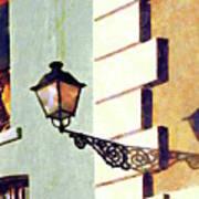San Juan Street Lamp Poster