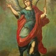 San Miguel Arcangel Poster
