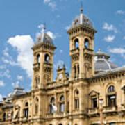 City Hall - San Sebastian - Spain Poster