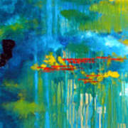 Sanctuary Abstract Painting Poster