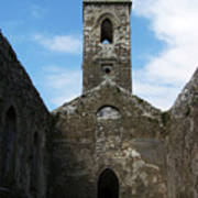 Sanctuary Fuerty Church Roscommon Ireland Poster