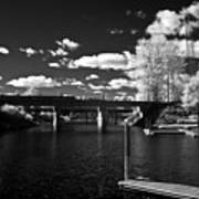 Sand Creek In Infrared Poster