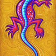 Sand Lizard Poster