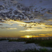 Sand N Sunset Poster