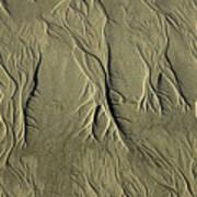 Sand Pattern Poster