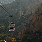 Sandia Peak Cable Car Poster