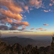 Sandia Peak Poster