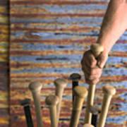 Sandlot Baseball Poster by Vance Fox