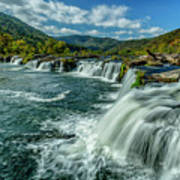 Sandstone Falls New River  Poster