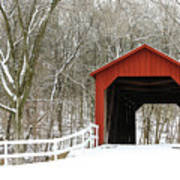 Sandy Creek Covered Bridge Poster