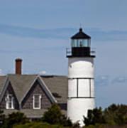 Sandy Neck Light  Barnstable Cape Cod Massachusetts Poster