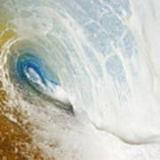 Sandy Wave Tube Poster