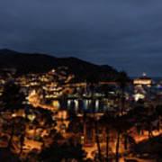 Santa Catalina Island Nightscape Poster