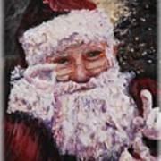 Santa Chat Poster