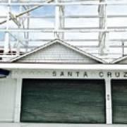 Santa Cruz, California  Poster