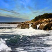 Santa Cruz Coastline Poster