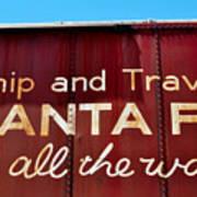 Santa Fe All The Way Poster