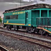 Santa Fe Rail Yard Poster