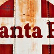 Santa Fe Railway Poster