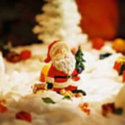 Santa In Town Poster