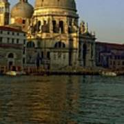 Santa Maria Della Salute In Venice In Morning Light Poster
