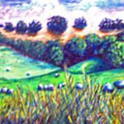 Santa Rosa Plateau Poster