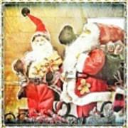 Santa Scene 2 Poster
