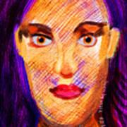 Santia Seen By Maca Poster