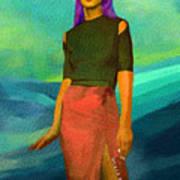 Santia Walking On Water Poster