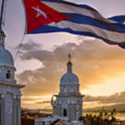 Santiago De Cuba Dusk Poster