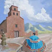 Santurario De Guadalupe Poster