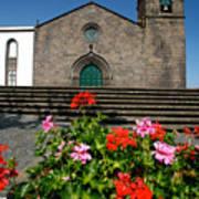 Sao Miguel Arcanjo Church Poster