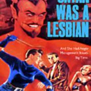 Satan Was A Lesbian Poster