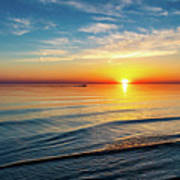Sauble Beach Sunset 4 Poster
