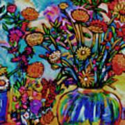 Sauvie Island Flowers Poster