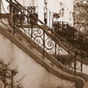Savannah Sepia - Stoops Poster
