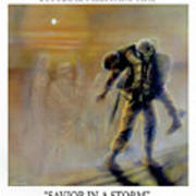 Savior In A Storm Poster