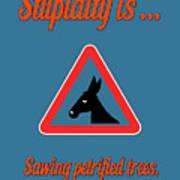 Sawing Bigstock Donkey 171252860 Poster