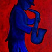 Sax Man Poster