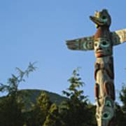 Saxman Totem Park Poster by Greg Vaughn - Printscapes