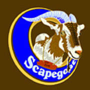 Scapegoat For Hire Poster by Laura Brightwood