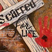 Scarred For Life Poster