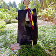 Scarry Potter Scarecrow At Cheekwood Botanical Gardens Poster