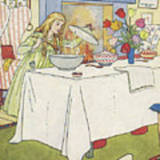 Scene From The Story Of Goldilocks And The Three Bears Poster