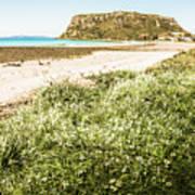 Scenic Stony Seashore Poster