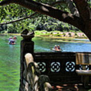 Scenic Tam Coc Boat Tour Poster
