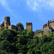 Schoenburg Castle Oberwesel Germany Poster