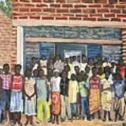 School Class Burkina Faso Series Poster