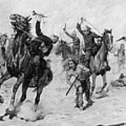 Schreyvogel: Attack, 1905 Poster