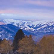 Schweitzer Ski Area Poster